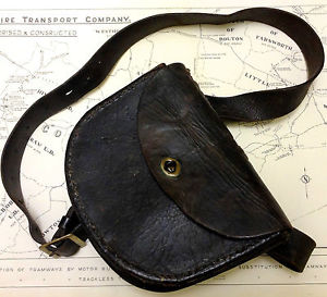 Vintage Leather Coin Pouch